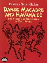 Danse Macabre et Havanaise - Full Score SAINT-SAËNS laflutedepan