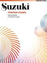 Position Etudes Suzuki Partition Violon - laflutedepan.com