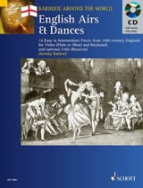 English Airs and Dances - Jeremy Barlow - laflutedepan.com