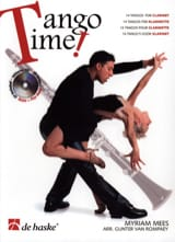 Tango Time For Clarinet ( +CD) Myriam Mees Partition laflutedepan.com
