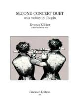 Second concert duet op. 68 Ernesto KÖHLER Partition laflutedepan.com