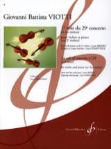 Giovanni Battista Viotti - 1er Solo du Concerto n° 29 en mi mineur - Partition - di-arezzo.fr