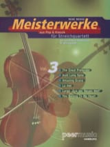 René Mense - Meisterwerke For Streichquartett Vol.3 - Sheet Music - di-arezzo.co.uk