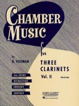 H. Voxman - Kammermusik-Klarinetten Trios Vol 2 medium - Noten - di-arezzo.de