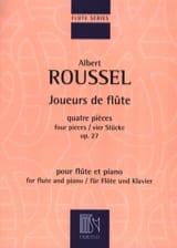 Joueurs de Flûte - Opus 27 - Albert Roussel - laflutedepan.com
