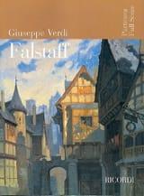 VERDI - Falstaff nouvelle éd. - Partitur - Partition - di-arezzo.fr