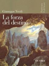 VERDI - La Forza Del Destino - Partition - di-arezzo.fr