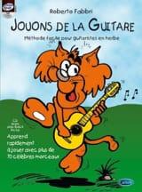 Jouons de la guitare Roberto Fabbri Partition laflutedepan.com