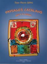 Paysages catalans Jean-Pierre Grau Partition Guitare - laflutedepan