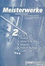 Meisterwerke Fur Streichquartett Volume 2 René Mense laflutedepan.com