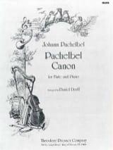Canon - Flûte piano Johann Pachelbel Partition laflutedepan.com