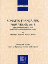 Sonates françaises pour violon - Volume 1 Partition laflutedepan.com
