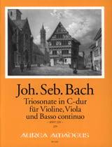Triosonate C-Dur BWV 529 BACH Partition Trios - laflutedepan.com