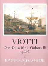 3 Duos Op.30 Giovanni Battista Viotti Partition laflutedepan.com