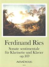 Ferdinand Ries - Sonate sentimentale op. 169 - Partition - di-arezzo.fr