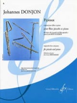 Pipeaux - Piccolo Johannes Donjon Partition laflutedepan.com