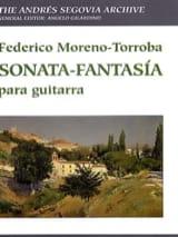 Federico Moreno-Torroba - Sonata Fantasia para guitarra - Partitura - di-arezzo.it