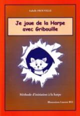 Je joue de la harpe avec Gribouille laflutedepan.com
