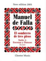 Manuel de Falla - El sombrero de tres picos - Suite 1 - Partition - di-arezzo.fr
