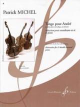 Tango pour André Patrick Michel Partition laflutedepan.com