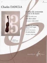 DANCLA - 1st Concerto Solo op. 141 n ° 1 in C major - Alto - Sheet Music - di-arezzo.co.uk