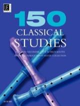 - 150 estudios clásicos - Grabador alto - Partitura - di-arezzo.es
