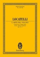 L'arte Del Violino Op.3 N°1-4 laflutedepan.com