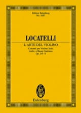 L'arte Del Violino Op.3 N°5-8 laflutedepan.com