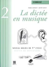 La Dictée en Musique - Corrigé - Volume 2 laflutedepan.com