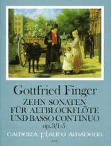 10 Sonaten op. 3 - Heft 1 (1-5) – Altblockflöte u. Bc - laflutedepan.com