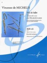 Vincenzo de Michelis - Solo de ballet op. 87 – PIccolo piano - Partition - di-arezzo.fr