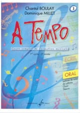 Chantal BOULAY et Dominique MILLET - A Tempo Volume 3 - Oral - Sheet Music - di-arezzo.co.uk