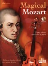 Magical Mozart - CD Inclus MOZART Partition Violon - laflutedepan.com
