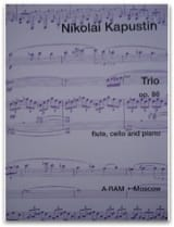 Trio op. 86 - Nikolai Kapustin - Partition - Trios - laflutedepan.com