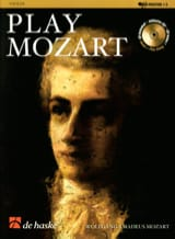 Wolfgang Amadeus Mozart - Play Mozart – Violon - Partition - di-arezzo.fr