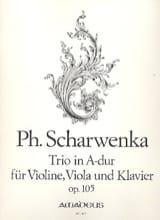 Philipp Scharwenka - Trio A-Dur op. 105 –Violine Viola Klavier - Partition - di-arezzo.fr
