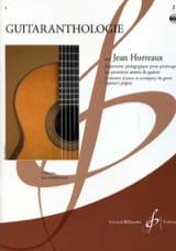 Jean Horreaux - Guitaranthologie – Volume 2 - Partition - di-arezzo.fr
