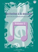 Invitation A la Musique - Volume 5 laflutedepan.com
