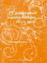 25 Polyphonies vocales modales Gilles Dervieux laflutedepan.com