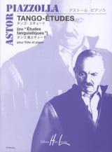 Astor Piazzolla - Tango-Etudes – Flûte piano - Partition - di-arezzo.fr
