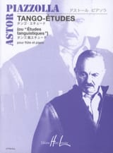 Astor Piazzolla - Tango-Etudes - Flute - Sheet Music - di-arezzo.co.uk