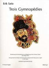 3 Gymnopédies Erik Satie Partition laflutedepan.com