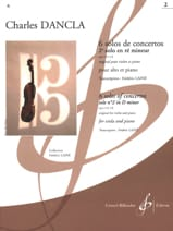 DANCLA - 2nd Concerto Solo op. 141 n ° 2 in D minor - Alto - Sheet Music - di-arezzo.com