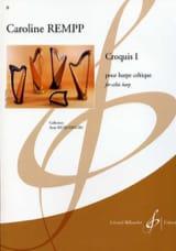 Caroline Rempp - Croquis 1 - Partition - di-arezzo.fr