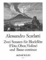 2 Sonaten für Blockflöte und B.C. laflutedepan.com