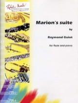 Marion's suite - Raymond Guiot - Partition - laflutedepan.com