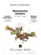 Ramin Entezami - Melodic Studies Volume 1 - Sheet Music - di-arezzo.com