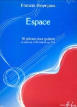 Espace op. 73-4 Francis Kleynjans Partition Guitare - laflutedepan.com