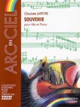 Charlotte Lapeyre - Souvenir - Partition - di-arezzo.fr