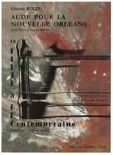 Aude Pour la Nouvelle Orléans Etienne Rolin Partition laflutedepan.com